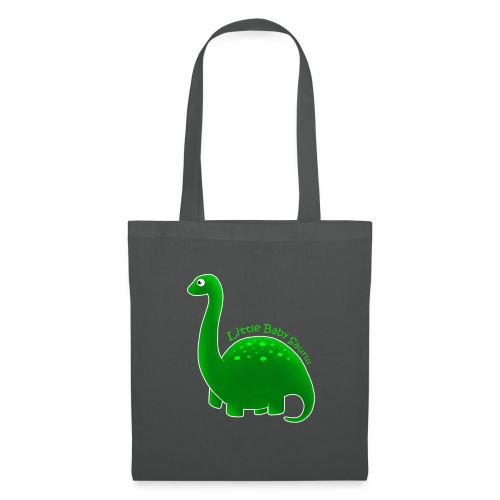 Green Little Baby Saurus - Tote Bag