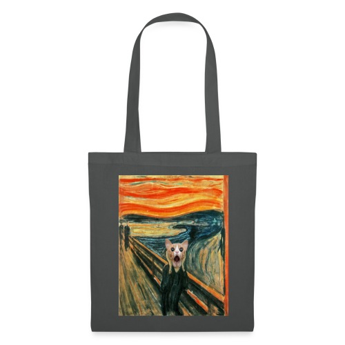 cat scream - Tote Bag
