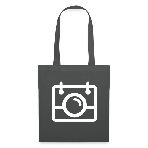 White AYWMC Camera logo - Tote Bag
