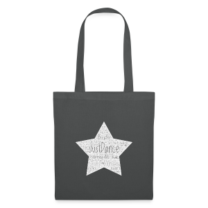 PAS Star greys bg light grey - Stoffbeutel