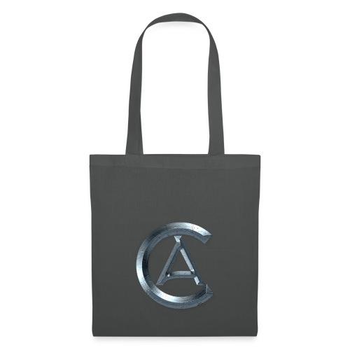 AnzahCraft Rundes Logo - Stoffbeutel