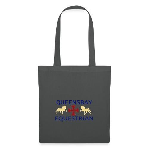 Queensbay Equestrian logo - Tas van stof