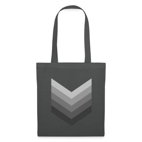 Chevrons gris - Tote Bag