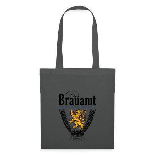 Brauamt Logo schwarz - Stoffbeutel