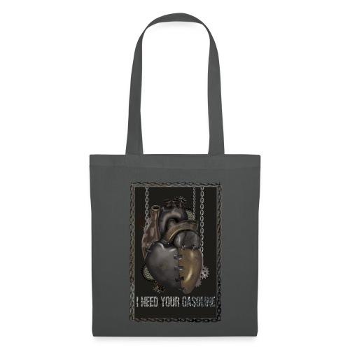 corazón sin gasolina - Bolsa de tela