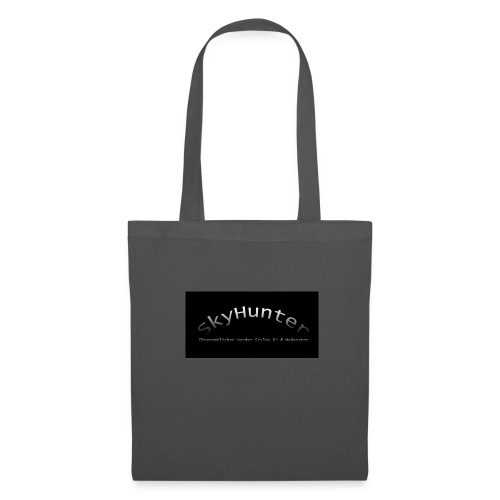 SkyHunter Logo Black - Stoffbeutel