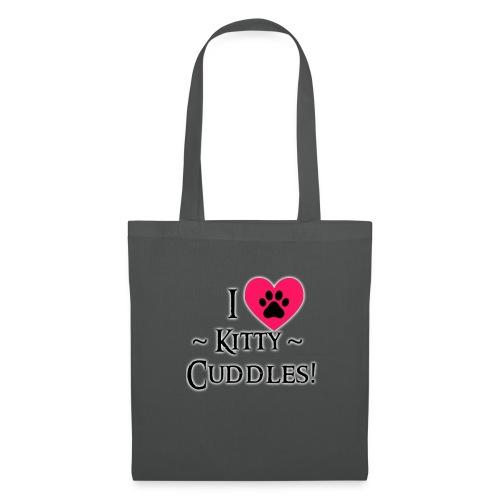 I LOVE Kitty Cuddles - Tote Bag