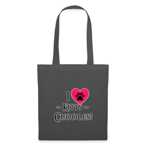 I LOVE Kitty Cuddles - Tote Bag