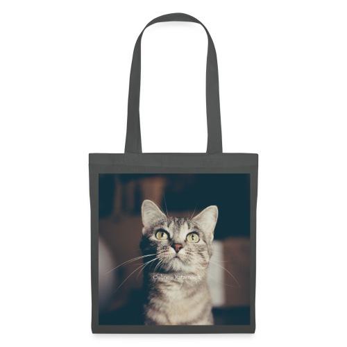 Hauskatzen Blick - Stoffbeutel