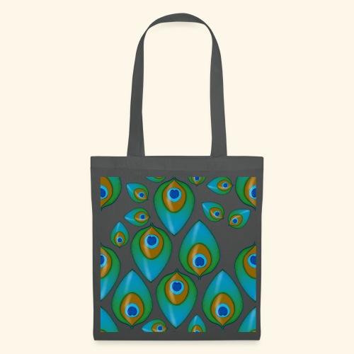 peacock tile png - Tote Bag