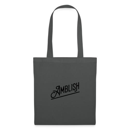 AMBLISH Logo BLACK - Stoffbeutel