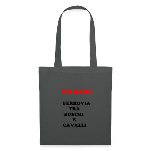 NO RAIL! - Borsa di stoffa
