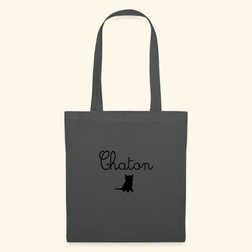 Chaton - Tote Bag