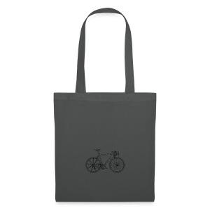 Bike - Tas van stof