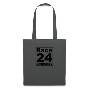 Race24 logo in black - Tote Bag