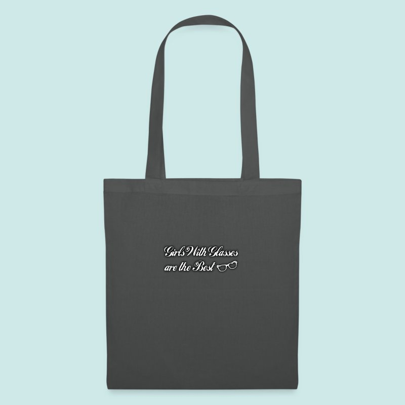 Girls with Glasses Best - Black - Tote Bag