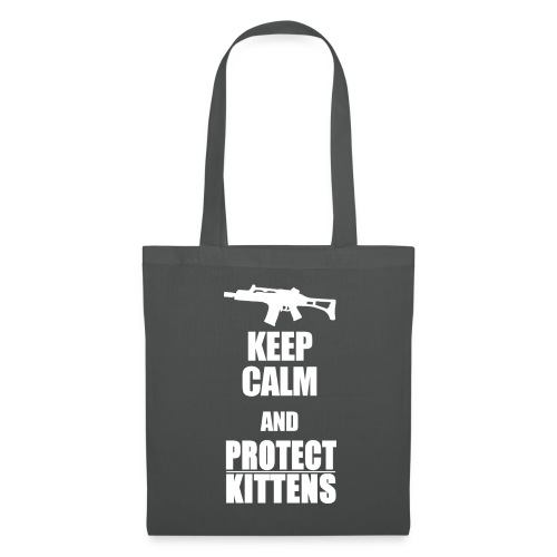 Keep Calm and Protect Kittens - Stoffbeutel