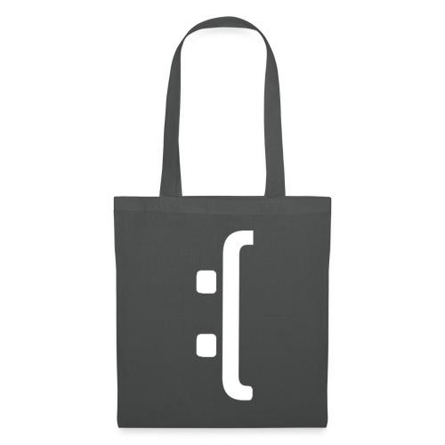 A 'Sad Face' Design :( , Designed by Browney. - Tote Bag