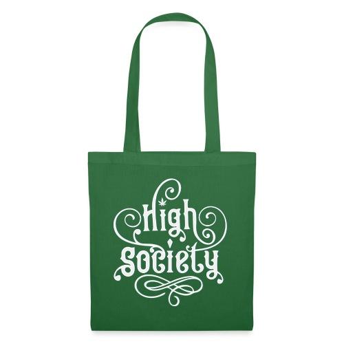 High Society Typo 01 - Stoffbeutel