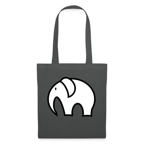 olifant pictogram - Tas van stof
