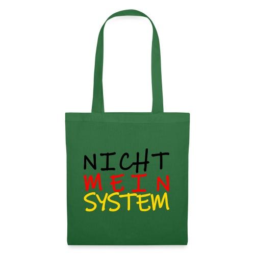 NICHT MEIN SYSTEM - Stoffbeutel