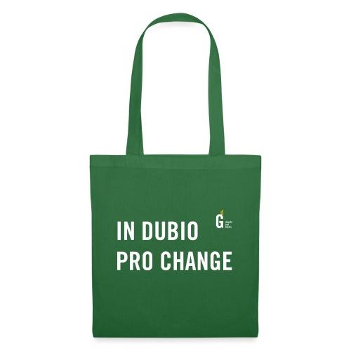 In dubio pro change I - Tote Bag