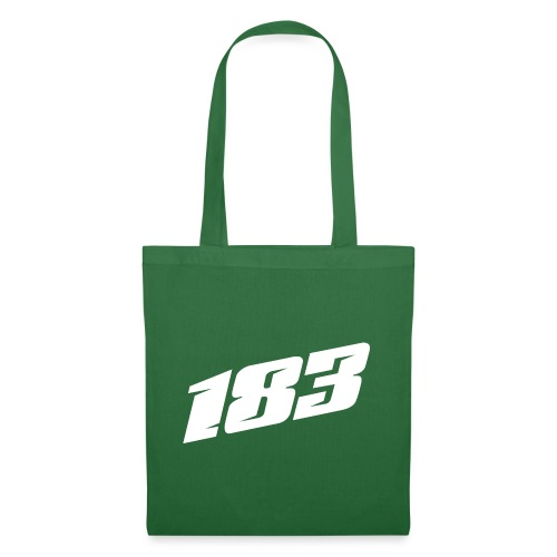 183 Charlie Guinchard number white - Tote Bag