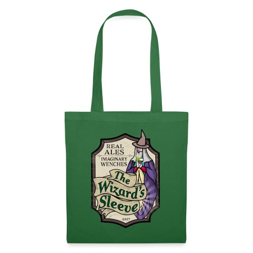 Wizard's Sleeve Pub Sign - Tote Bag