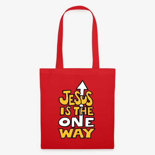 JESUS IS THE ONE WAY - Tote Bag