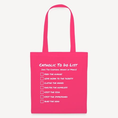 CATHOLIC TO DO LIST - Tote Bag