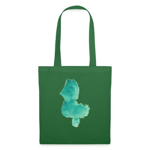 grünes Küken - Stoffbeutel