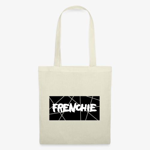 Frenchie Black & White - Stoffbeutel