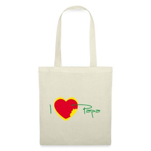 I love papa - Rasta Vert Jaune Rouge - Tote Bag