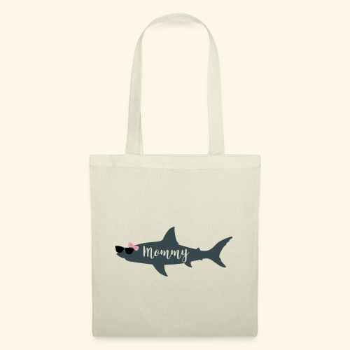 Mommy shark - Bolsa de tela