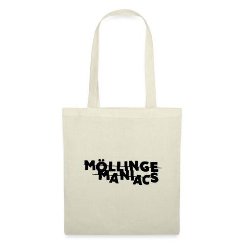 Möllinge Maniacs svart logga - Tygväska