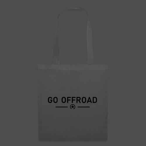 go offroad - Stoffbeutel