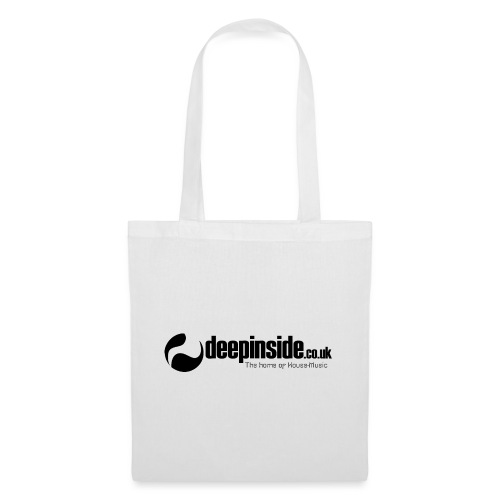 DEEPINSIDE The home of House-Music (Black) - Tote Bag