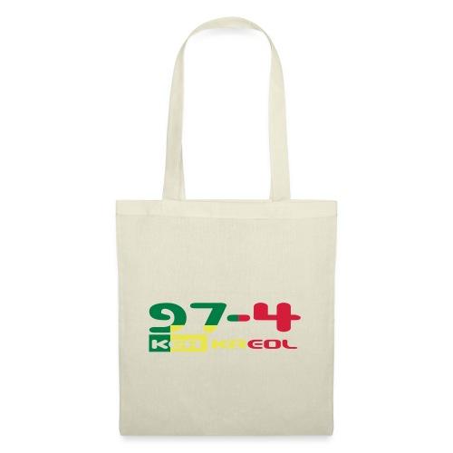 Logo 974 ker kreol VJR, rastafari - Tote Bag
