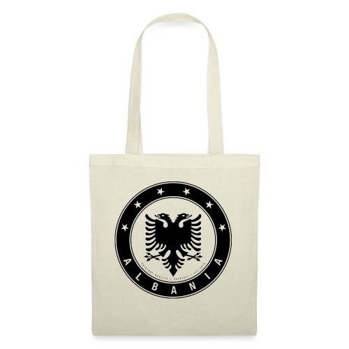 Patrioti Albania Black - Stoffbeutel