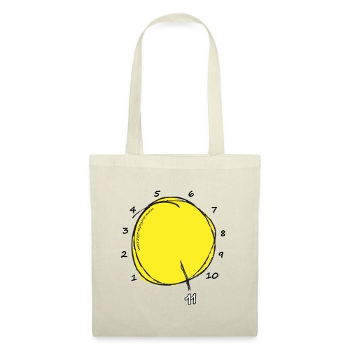 Stairway to Eleven (Black) - Tote Bag