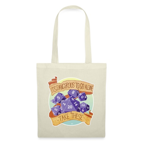 Dungeons and Dragons Bag - Stoffbeutel