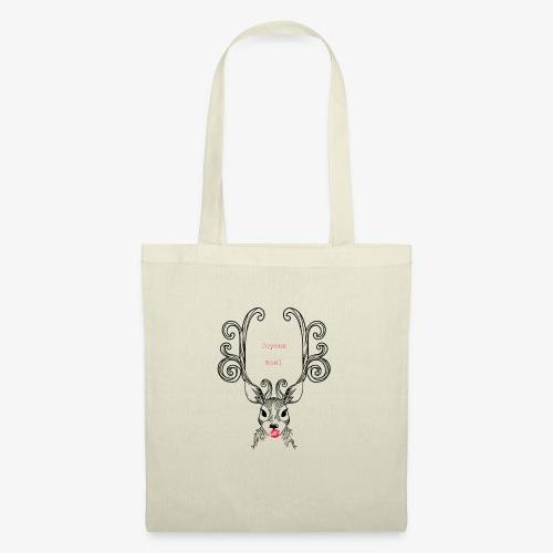 cerf Joyeux Noel - Tote Bag