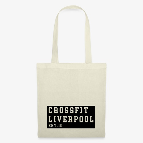 Cross Fit Liverpool - block print - Tote Bag