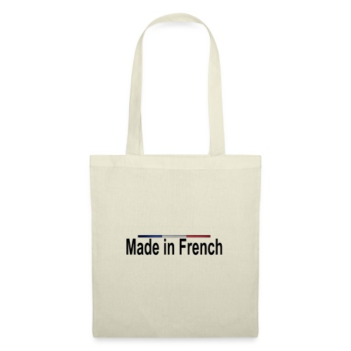 made in french black - Tote Bag