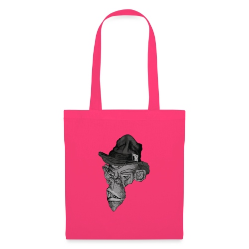 Monkey in the hat - Tote Bag