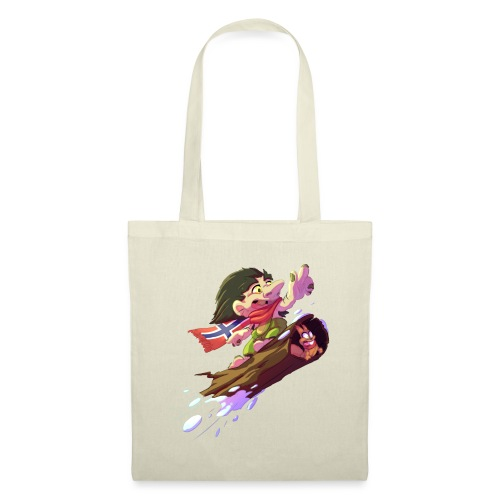 Snowboarder troll - Tote Bag