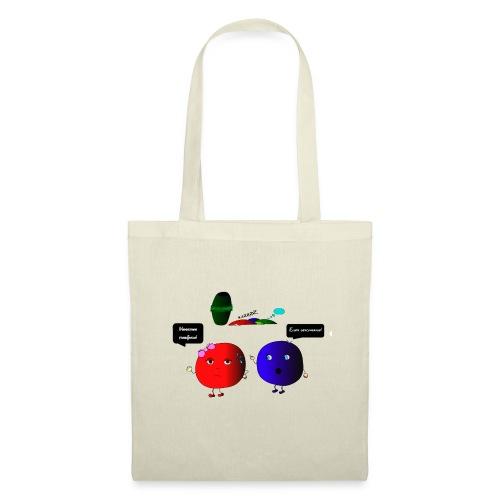 Diseño parchís camiseta - Bolsa de tela