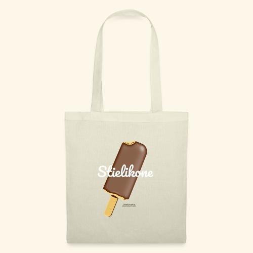 Eis am Stiel Geek T Shirt Spruch Stielikone - Stoffbeutel