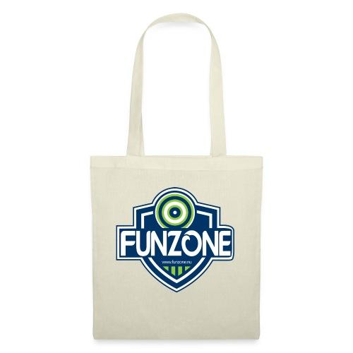 Funzone_logo_ljus_bakgrund - Tygväska