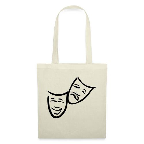 Theatermasken - Stoffbeutel